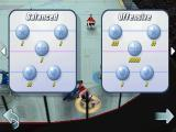 Hockey Nations 2010 Android Different tactics can be picked