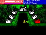 Exterminator ZX Spectrum When the attic level is complete the house turns red and the van moves on to the next