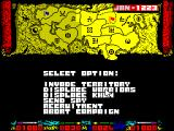 Genghis Khan ZX Spectrum Start of a campaign
