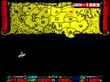 Genghis Khan ZX Spectrum I chose to send a spy. There they go, off on their mission.