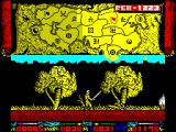 Genghis Khan ZX Spectrum .. the enemy sinks to the ground
