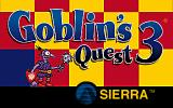Goblins Quest 3 DOS Title screen (US version).