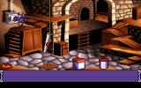 Goblins Quest 3 DOS And even the hero himself changes form: As Were-Blount...
