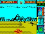 Hydra ZX Spectrum It is possible to travel 'off-road'. No enemies to get in the way but no bonus items to collect either and I don't think I travelled as fast.