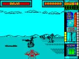 Hydra ZX Spectrum Just shot a robot but there's still one between me and the thing I'm chasing. They do tend to cluster around it