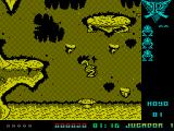 Poogaboo: La Pulga 2 ZX Spectrum Poogaboo moves by jumping. The longer the action key is held down the further the jump. 