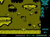 Poogaboo: La Pulga 2 ZX Spectrum The odd looking thing above Poogaboo is a dragon. This is the bad guy and any contact is fatal. It chases Poogaboo and its vital not to get trapped in a corner