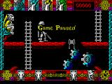 Lone Wolf: The Mirror of Death ZX Spectrum A handy feature is the game pause.