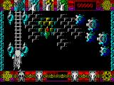 Lone Wolf: The Mirror of Death ZX Spectrum Past the birds and still climbing