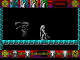 Lone Wolf: The Mirror of Death ZX Spectrum .. and a shadow 'me' drops in for a fight.