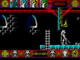 Lone Wolf: The Mirror of Death ZX Spectrum Defeated him, climbed the right and the chasm at the top forces me to explore to the right.