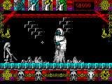 Lone Wolf: The Mirror of Death ZX Spectrum Some sort of ghost that spits nasty stuff bars my way