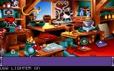 Goblins Quest 3 DOS In the laboratory, you control Blounts hands and mix potions out of different ingredients.