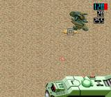 Vasteel TurboGrafx CD The tank is trying to use homing missile to get rid of that pesky guy