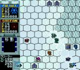 Vasteel TurboGrafx CD Snowy area. More and more robot types...