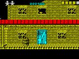 Desperado 2 ZX Spectrum Beginning of zone 1. The player starts with three lives, I'd lost one before I started taking screen shots.
