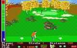 Mean 18 Atari ST Teeing off on a par 3