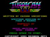 Turrican II: The Final Fight ZX Spectrum Game credits follow swiftly after
