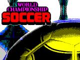 World Championship Soccer ZX Spectrum Load screen