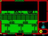 Autocrash ZX Spectrum Its my last life. The game flips the screen and slowly peels it away. There's no apparent score. The next screen after this is the Game Control Options screen