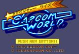 Adventure Quiz: Capcom World /  Hatena? no Daibōken TurboGrafx CD Capcom World: title screen