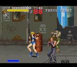 Final Fight 3 SNES Lucia is ready