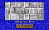Who Framed Roger Rabbit DOS A map of the city. The amount of lives left is also displayed by vacant dip barrels (EGA)