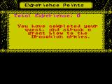 Dragons of Flame ZX Spectrum This is the game's 'end screen' at which no action keys seem to have any effect