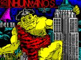 Los Inhumanos ZX Spectrum Load screen