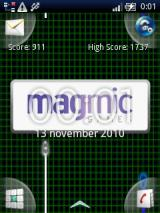 Tronic Android Magmic logo at startup