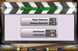 Megaplex Madness: Now Playing iPhone When the level is completed, your final stats are shown