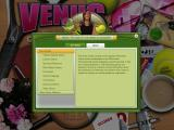 Venus: The Case of the Grand Slam Queen Windows Help screen
