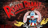 Who Framed Roger Rabbit Amiga Title screen