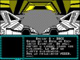 La Aventura Espacial ZX Spectrum You're in the zone of Outer Contact. This is the departure point for all missions. The W-V closes silently.