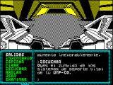 La Aventura Espacial ZX Spectrum You hear the humming of your WMP-CO life support systems