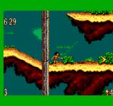 The Jungle Book SEGA Master System Throwing a boomerang