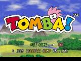 Tomba! PlayStation Main Menu