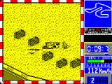Sito Pons 500cc Grand Prix ZX Spectrum Any crash is usually a crash at speed and most often results in a long tumble across the ground and off the track