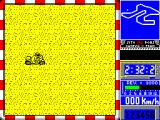 Sito Pons 500cc Grand Prix ZX Spectrum The little radar screen works - even when I took an off-road route to find an easy place to rejoin the track