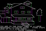 Hi-Res Adventure #1: Mystery House Apple II The game begins here