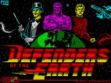 Defenders of the Earth ZX Spectrum Load screen