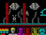 Defenders of the Earth ZX Spectrum Running, or bounding, away seems like a good option