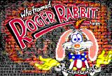 Who Framed Roger Rabbit Apple II Title screen