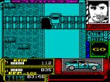 Carlos Sainz ZX Spectrum Nice touch showing the car leaving the ground as it crosses the railway lines
