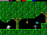 Impossamole ZX Spectrum The start of the KLONDIKE level