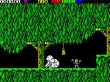 Impossamole ZX Spectrum KLONDIKE level : Nice explosion when a bat is killed