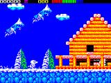 Impossamole ZX Spectrum The ICELAND level starts like this