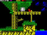 Impossamole ZX Spectrum AMAZON level : Lots of green birds, snakes and crocodiles ahead