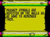 Clive Barker's Nightbreed:  The Action Game ZX Spectrum Also in the Prologue is some 'key' information
