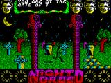 Clive Barker's Nightbreed:  The Action Game ZX Spectrum The game starts here. 